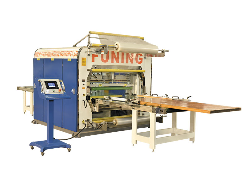 Wrapping machine for Doors