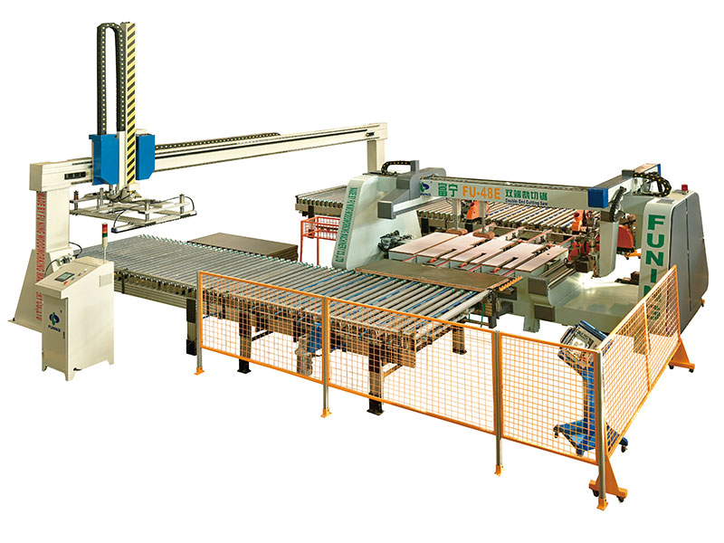 Automatic production line of Doubie-end Cutting Saw